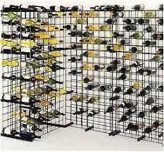 wire wine rack. Black Metal Lattice Wine Rack | Wire Racks