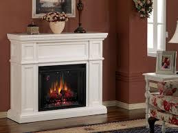 white charmglow electric fireplace