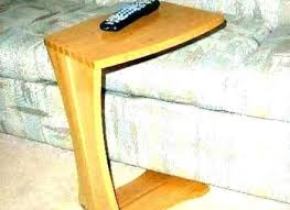 ehemco slide under sofa side table with