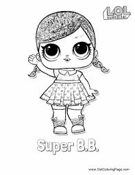 Coloring Pages Lol Surprise Doll Coloring Pages Cherry Ham Series