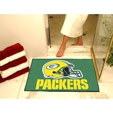 green bay packers area rug green bay packers rug all star rugs plain and simple deals