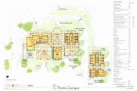 costa rica home floor plans luxury house plan club house design imanada punta cacique resort costa