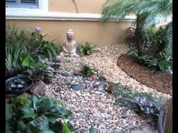 Small Picture DIY Small rock garden decorating ideas YouTube