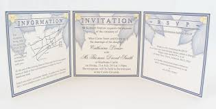 essential and optional information for wedding invitations a s Wedding Invitations With Rsvp Included Uk trifold invitation showing invitation text, rsvp and wedding information wedding invitations with rsvp cards included uk