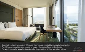 JOI-Design's vision for the new guestrooms in the Hilton Munich ...