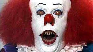 scary clown face makeup photo 1