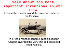 Talk About The Most Important Inventions In Our Life Ppt Download