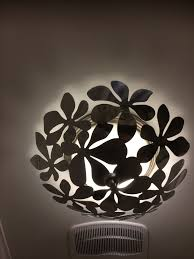 unusual ceiling lighting. i wanted an unusual ceiling light cover this is a stainless steel bowl from ikea lighting