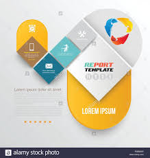 Vector Brochure Design Template Flyer Layout Magazine Cover Stock