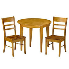 Small Round Fold Up Kitchen Table And Chairs In Pine
