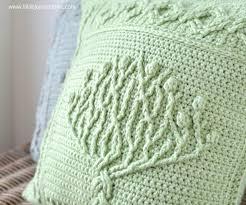 Tree Of Life Pillow New Overlay Crochet Pattern