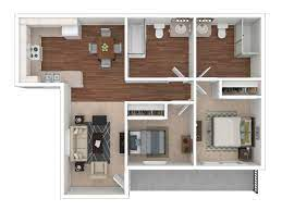 2 Bedroom Apartment Priced At 1810 925 Sq Ft The Ridge At San Diego