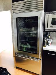 #SubZero #refrigerator 650G model repaired this week in #WestHollywood CA:  defrost problem is fixed.