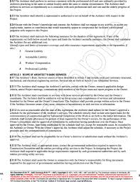 owner responsibility form appendix b aia document b101 2007 standard form of agreement