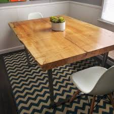 Live Edge Dining Table Maple Tablerustic Furniture Live Etsy