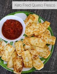 keto fried queso fresco step away