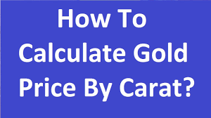 How To Calculate Gold Price By Carat 22 20 18 Youtube