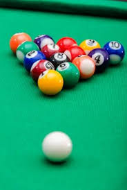 pool game balls. Perfect Balls Pool Game Balls On Green Felt Table Stock Photo  17310694 And Game Balls S