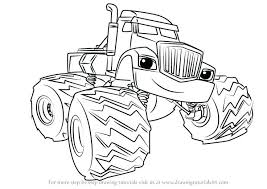 Blaze And The Monster Machine Coloring Pages Blaze And The Monster