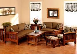 Solid Wood Living Room Furniture Sets Sofa Charming Wooden Sofa Sets For Living Room 3 Images Of