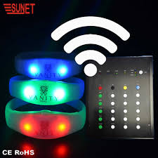 Light Up Radio Big Concert Light Up Supply Dmx Remote Radio Controlled Led Flashing Bracelet Buy Light Up Bracelet Dmx Led Bracelet Radio Controlled Led Bracelet