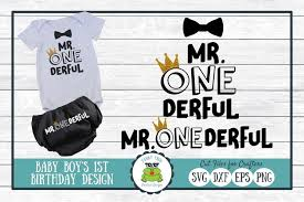 Be sure to check out our website at svgfilesfree.com. Mr One Derful First Birthday Svg Cut File 181569 Cut Files Design Bundles