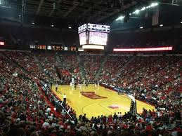 Unlv Rebels Basketball Seating Chart Thomas Mack Center Section 113 Row P Seat 11 Unlv