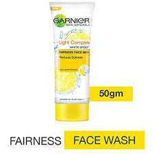 Garnier Skin Natural Light Complete Fairness Face Wash 50g