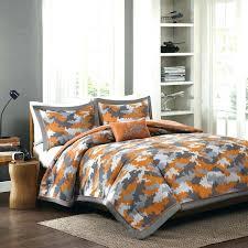 burnt orange comforter set and grey bedding black white navy bedspread burnt orange comforter