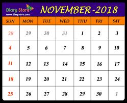 November Through November Calendars November 2018 Calendar All Countries Holidays List Global