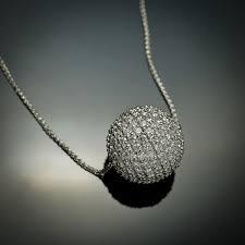 4 92 carat 212 diamond ball pendant 2