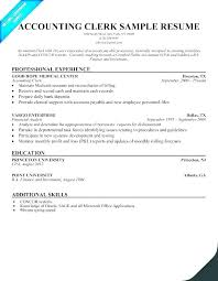 Clerical Resume Enchanting Resume Law Clerk Clerical Resume Sample Objectives Fresh Objective