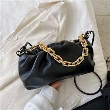 Thick Chain Crossbody Shoulder Bag <b>Luxury Handbag</b> Women ...