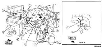 95 ford ranger hose heater valve water pump and heater core 02 Explorer Heater Hose Diagram here is a diagram from the ford service manual that may help let me know if you're looking for a particular item 2002 explorer heater hose diagram