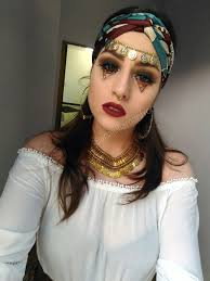 fortune teller gypsy makeup costume cigana fantasia