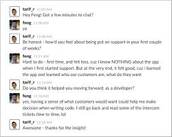 why all our new hires do customer support for two weeks roadmunk  slack feng