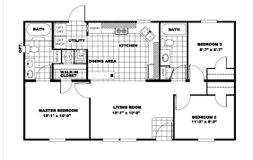 clayton homes sample floor plan