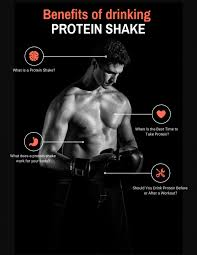 protein shake before or after workout