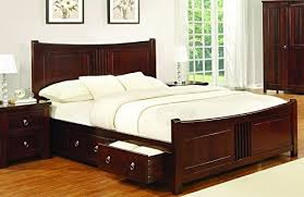 mahogany bed frame. Contemporary Mahogany Sweet Dreams Mahogany Drawer Bed Frame 180cm Super King Size 6FT Solid  Wood Amazoncouk Kitchen U0026 Home For N