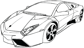 Coloring Page Of Car Car Pictures To Color Coloring Page Cars