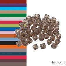 Crystal <b>Bicone</b> Beads - <b>4mm</b>-<b>6mm</b> | Oriental Trading