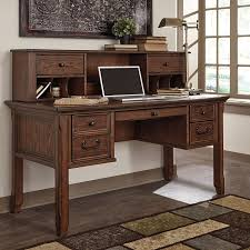 home office desks with storage. Woodboro Home Office Storage Desk W/ Hutch Desks With C