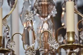 676a antique french chandelier with 6 light in the style of louis xv ref