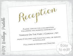 Free Wedding Reception Templates Free Wedding Reception Card