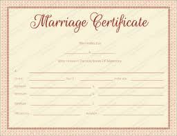 fake marriage certificate online free marriage certificate templates editable printable