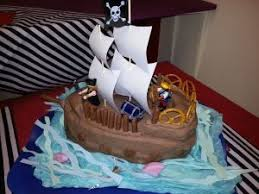 Pirate Themed Birthday Cake Jolly Good Productions Blog