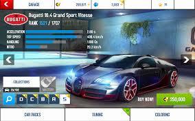 Super expensive and crazy fast. Bugatti Veyron 16 4 Grand Sport Vitesse Asphalt Wiki Fandom