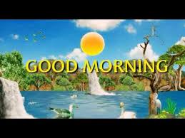 hd good morning theme scenery