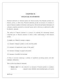 the best financial statement analysis ideas  financial analysis sample project report on financial statement analysis and interpretation of