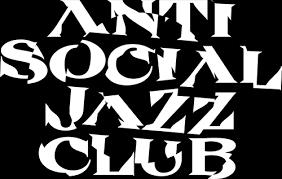 trane logo black. anti social jazz club trane logo black